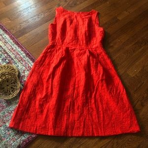 Jones New York red dress